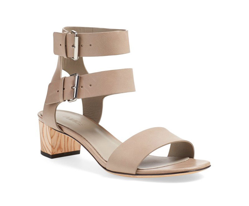 vince. ria ankle strap block heel blue eyed girl oc style report