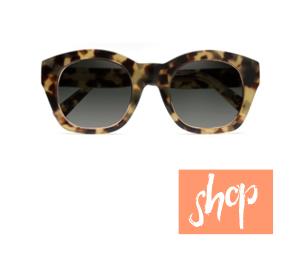 Cleobella X D'Blanc Champagne Sunglasses via The Shop Laguna