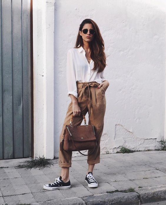 أرجوك لا تيليماكوس يعتبر Paper Bag Jeans Outfit Ideas Phfireballs Com