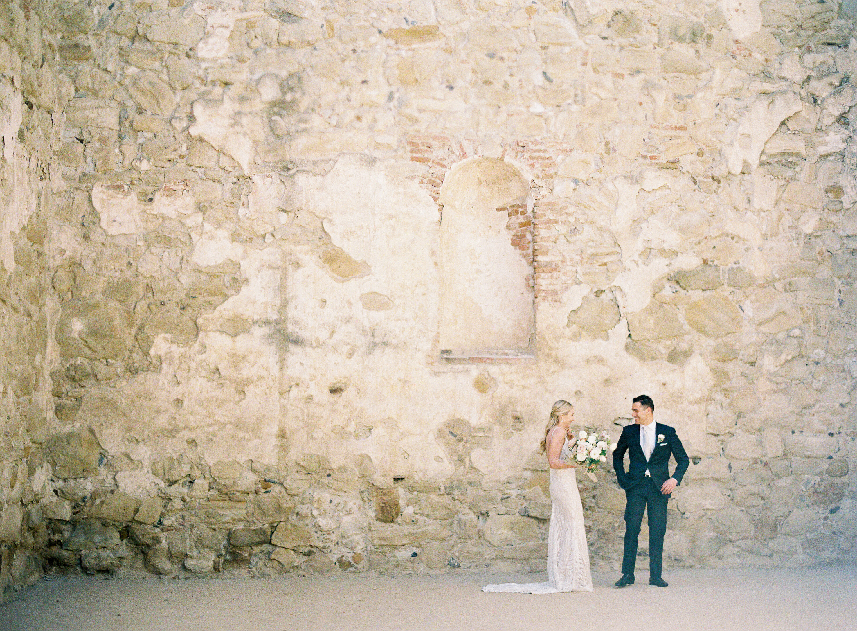 Why you should consider a first look on your wedding day from our favorite wedding planners, joy n company