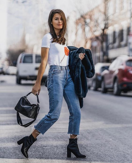 5f0403ab8a19 Recreate Effortless Outfits for NOW + LATER: You can never to wrong with  your favorite