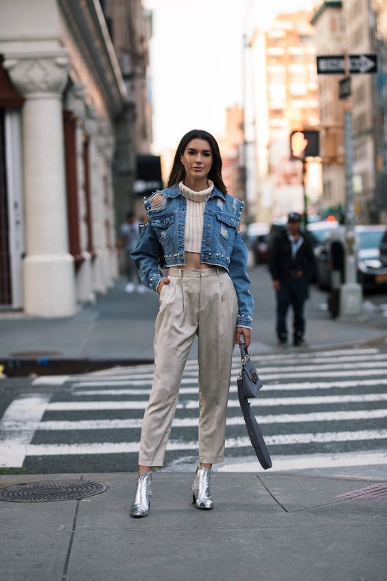 Denim Jacket Outfit Ideas To Copy Style Report Magazine