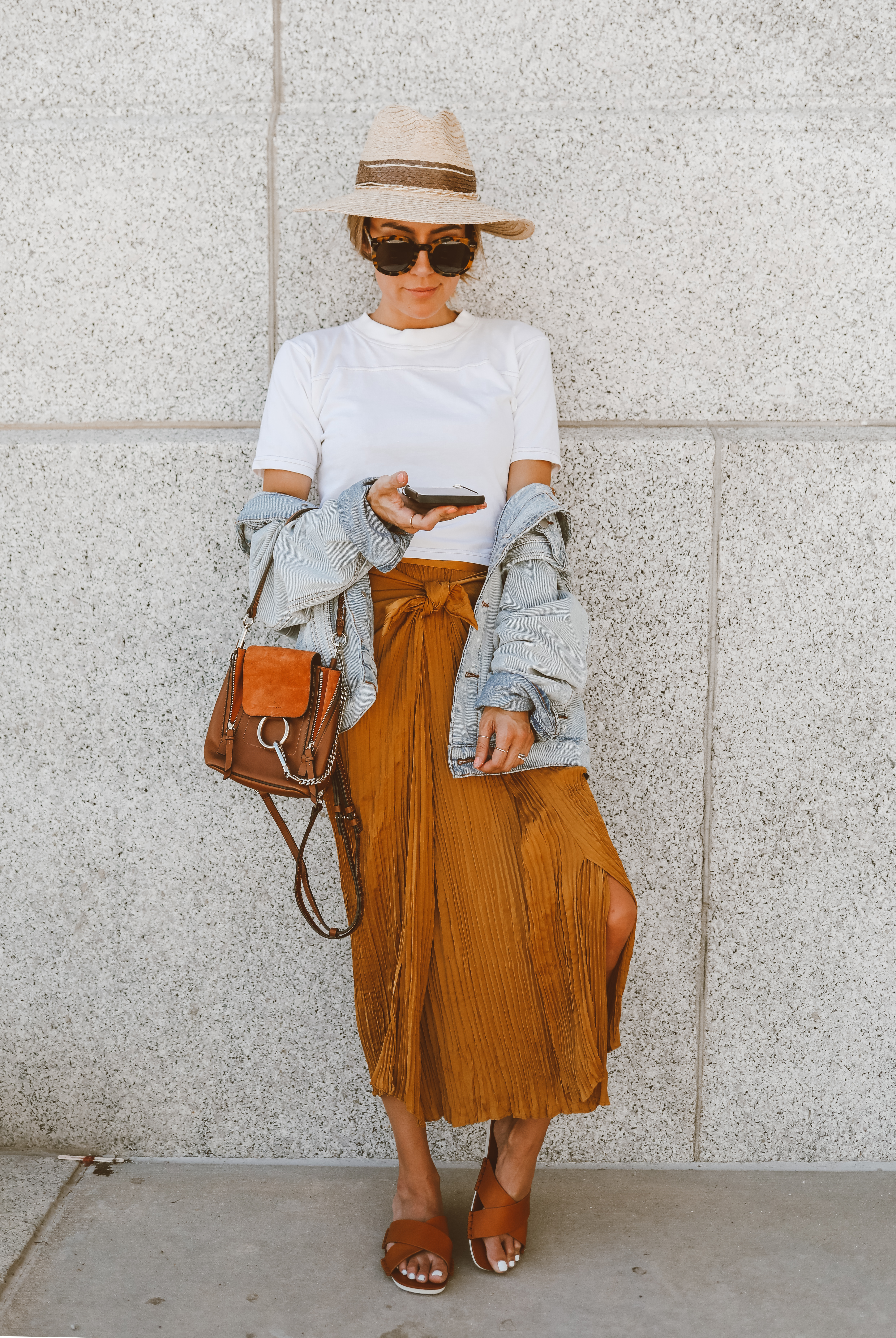 c79b8a51546d We re loving Hello Fashion Blog s Minimal Summer Outfit  Plain White Tee