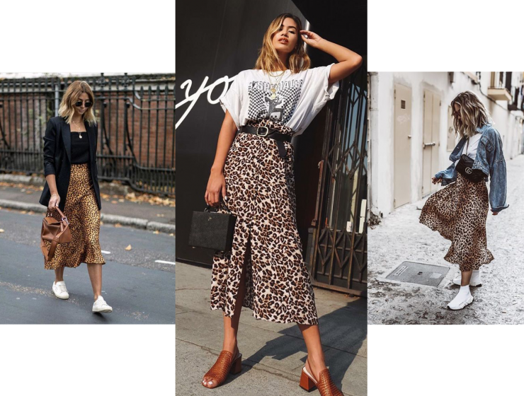 a0a411665bf8 How To Wear Animal Prints 2019 Fashiontasty. 3 Diffe Leopard Print Skirts Outfit  Ideas. Leopard Archives Style Report